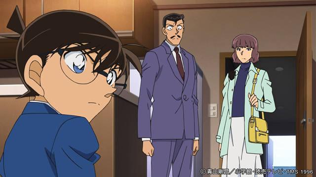 コナンと小五郎の探偵親子タッグが大活躍!?『名探偵コナン』