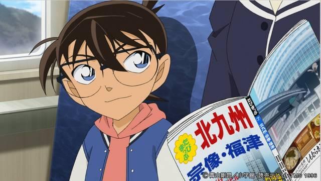 『名探偵コナン』北九州に上陸で歓迎の声!コナンや蘭と旅行気分を満喫!