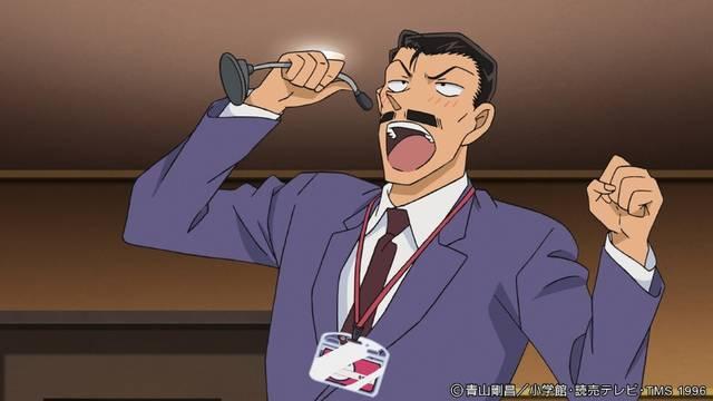 主役は黒タイツの犯沢さん!?『名探偵コナン』が乗っ取られる事態発生!