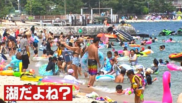 泳いで焼いてBBQ!滋賀県民は海でやること何でも琵琶湖でやっちゃうの?