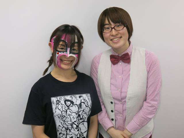 高学歴芸人×現役女子プロレスラーの異色コンビ「ネバーギブアップ」