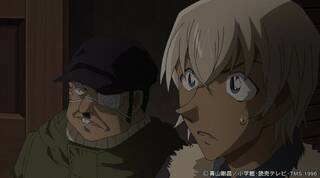 毛利小五郎の公認弟子・安室透と脇田兼則が初対面!『名探偵コナン』